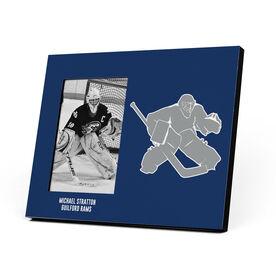 Hockey Photo Frame - Goalie