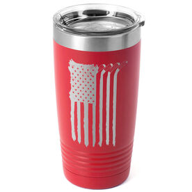 Hockey 20 oz. Double Insulated Tumbler - Flag