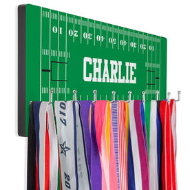 Football Hooked on Medals Hanger - Field