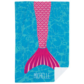 Personalized Premium Blanket - I'm A Mermaid