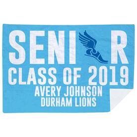 Track & Field Premium Blanket - Personalized Senior Class Of