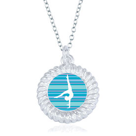 Gymnastics Braided Necklace - Gymnast