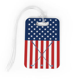 Golf Bag/Luggage Tag - USA Golfer