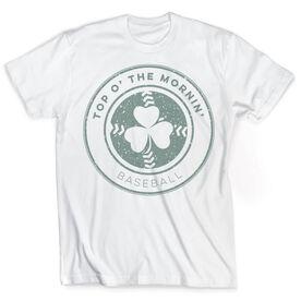 Vintage Baseball T-Shirt - Top O' The Mornin' Clover