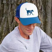 Tennis Trucker Hat - Dennis The Tennis Dog