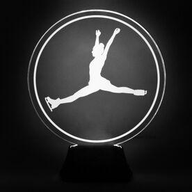 Figure Skating Acrylic LED Lamp Skater