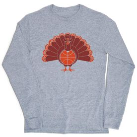 Basketball Tshirt Long Sleeve - Turkey Player