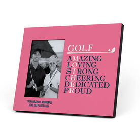 Golf Photo Frame - Mother Words