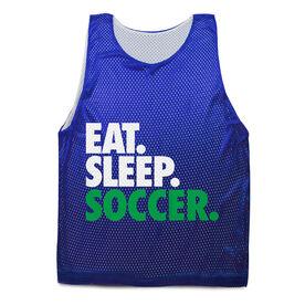 Soccer Pinnie Eat. Sleep. Soccer.