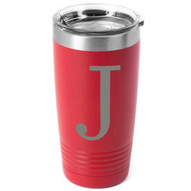 Personalized 20 oz. Double Insulated Tumbler - Initial