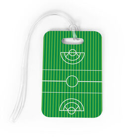 Girls Lacrosse Bag/Luggage Tag - Field
