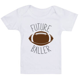 Football Baby T-Shirt - Future Baller
