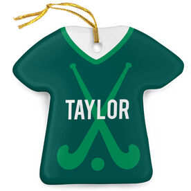 Field Hockey Porcelain Ornament That's My Jersey