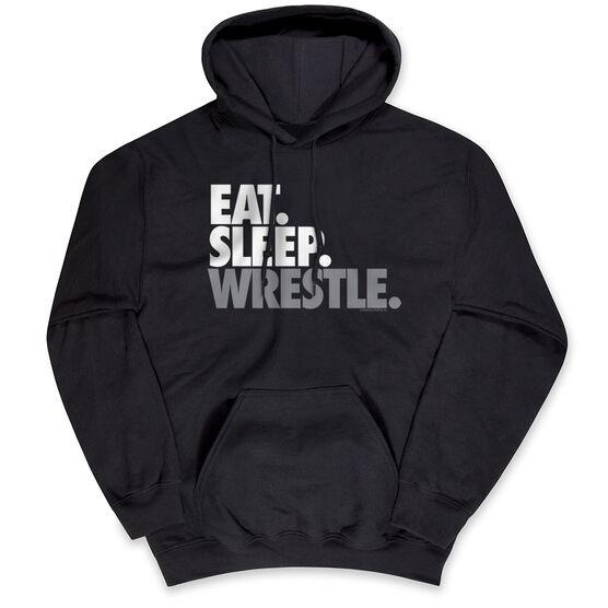 Wrestling Standard Sweatshirt - Eat Sleep Wrestle (Stack)