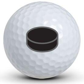 Hockey Puck Golf Balls