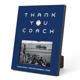 Baseball Photo Frame - Thank You Coach