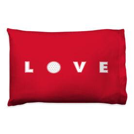 Golf Pillowcase - Love