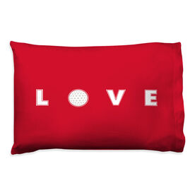 Golf Pillowcase - Love