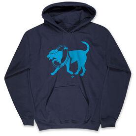 Swimming Standard Sweatshirt - Swim Dog