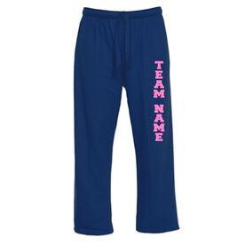 Custom Team Fleece Lined Sweatpants
