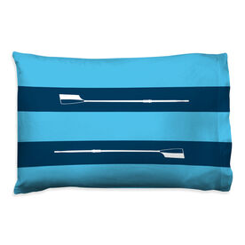 Crew Pillowcase - Custom Club - Team Colors 2 Horizontal Stripes