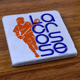 Lacrosse Stone Coaster Lacrosse Out Loud