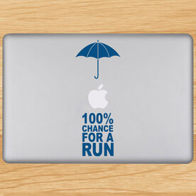 100% Chance For A Run Removable GoneForaRunGraphix Laptop Decal