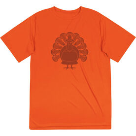 Girls Lacrosse Short Sleeve Performance Tee - Turkey Player
