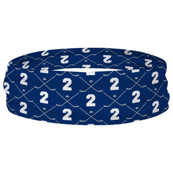 Hockey Multifunctional Headwear - Custom Team Number Repeat RokBAND