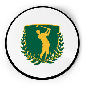 Golf Circle Plaque - Custom Logo