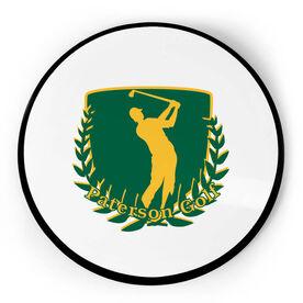 Golf Circle Plaque - Custom Logo