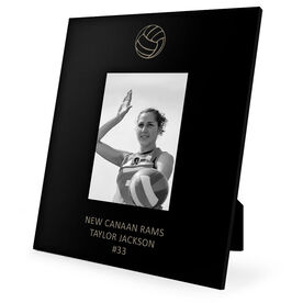 Volleyball Engraved Picture Frame - Volleyball