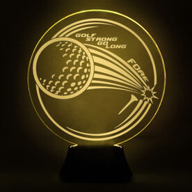 Golf Acrylic LED Lamp Fairway Drive