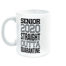 Coffee Mug - Senior 2020 Straight Outta Quarantine