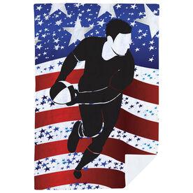 Rugby Premium Blanket - USA We Play