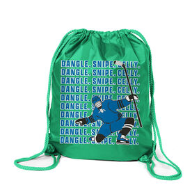 Hockey Sport Pack Cinch Sack - Dangle Snipe Celly Player