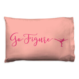 Figure Skating Pillowcase - Go Figure