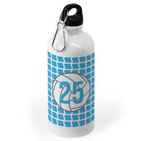Volleyball 20 oz. Stainless Steel Water Bottle - Ball And Net