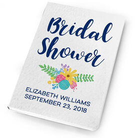 Personalized Notebook - Bridal Shower Guestbook