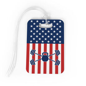 Cross Training Bag/Luggage Tag - USA Cross Trainer