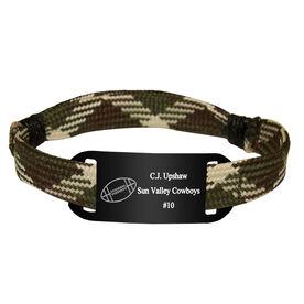 Personalized Football Lace Bracelet Ball Adjustable Sport Lace Bracelet