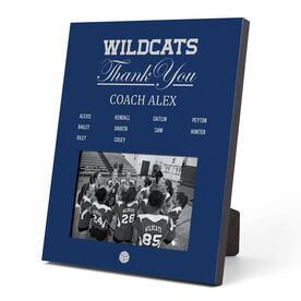 Volleyball Photo Frame - Thank You Coach Roster