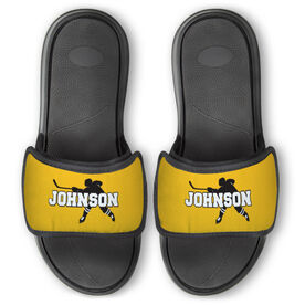 Hockey Repwell™ Slide Sandals - Personalized Hockey Shooter