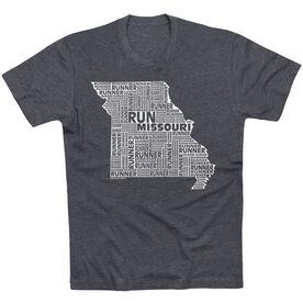 Running Short Sleeve T-Shirt - Missouri State Runner