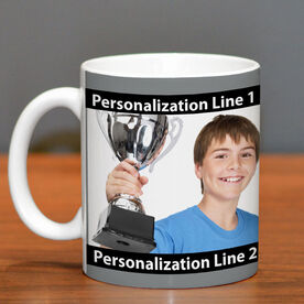 Skiing Coffee Mug Custom Photo with Color