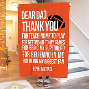 Football Premium Blanket - Dear Dad