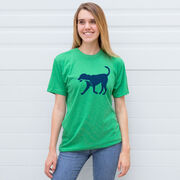 Hockey Tshirt Short Sleeve Rocky The Hockey Dog