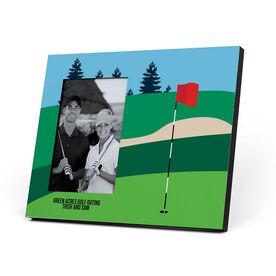 Golf Photo Frame - Golf Course