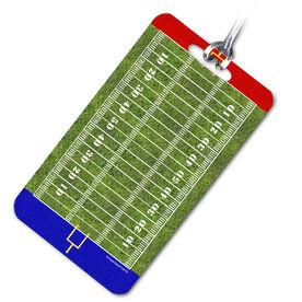 Football Bag/Luggage Tag Football Field