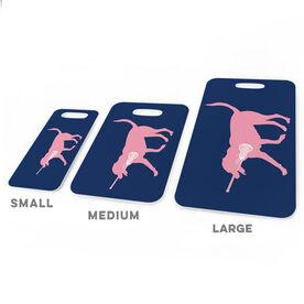 Girls Lacrosse Bag/Luggage Tag - LuLa the Lax Dog